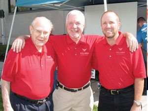 Company Founder Del Beutler, Chairman of the Board Gary Beutler and President Rick Wylie