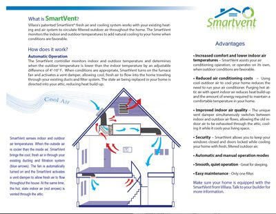 Smartvent Fresh Air System Villara Building Systems